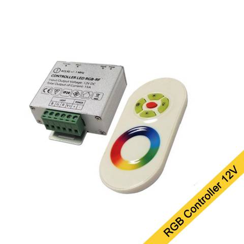 RGB led strip besturing 5 strip controll
