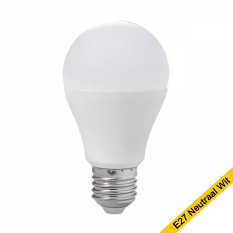 Led lamp gls E27 neutraal wit licht stan